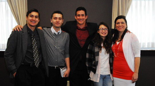 Jordan Joins His Family in His Commitment to God