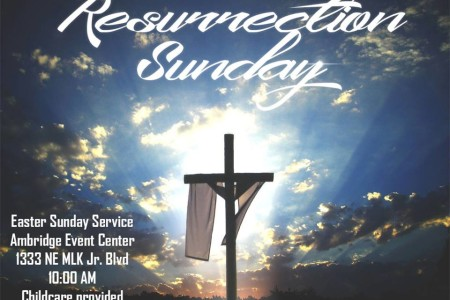 Join Us For Resurrection Sunday!