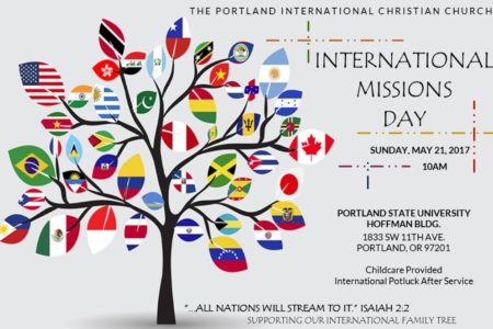 International Missions Day Is May 21st!!!