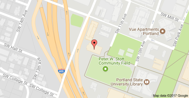 PSU Hoffman Hall Map